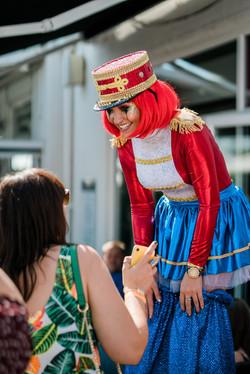 Greatest Showman Circus Stiltwalker