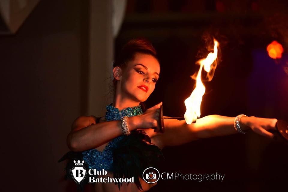 Fire Show for Christmas Party