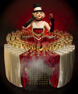 Circus Drinks Table