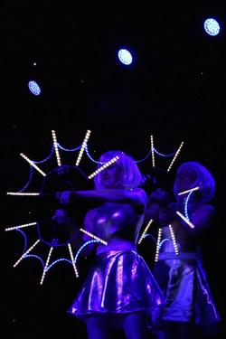 Glow fan duo