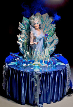 Ice character living table