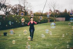 coloured bubbles