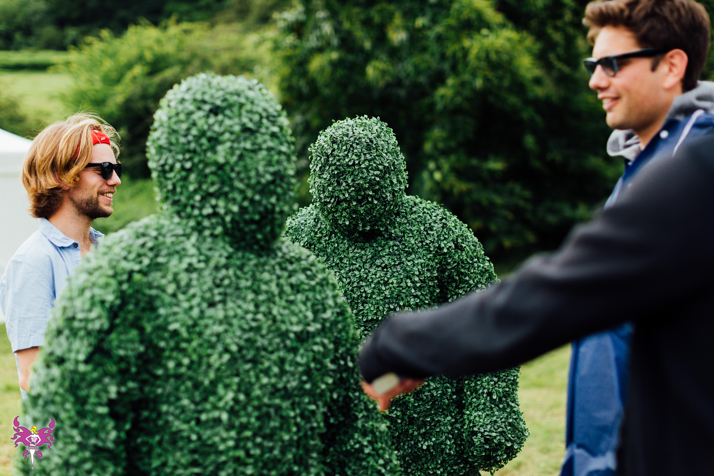 Immersive Living Hedges