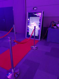 Magic Mirror at event