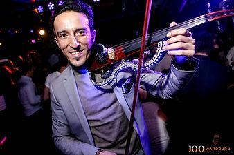LED Violinist, LED Saxophonist, LED Bongo Player