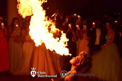 Fire Breather at School Prom