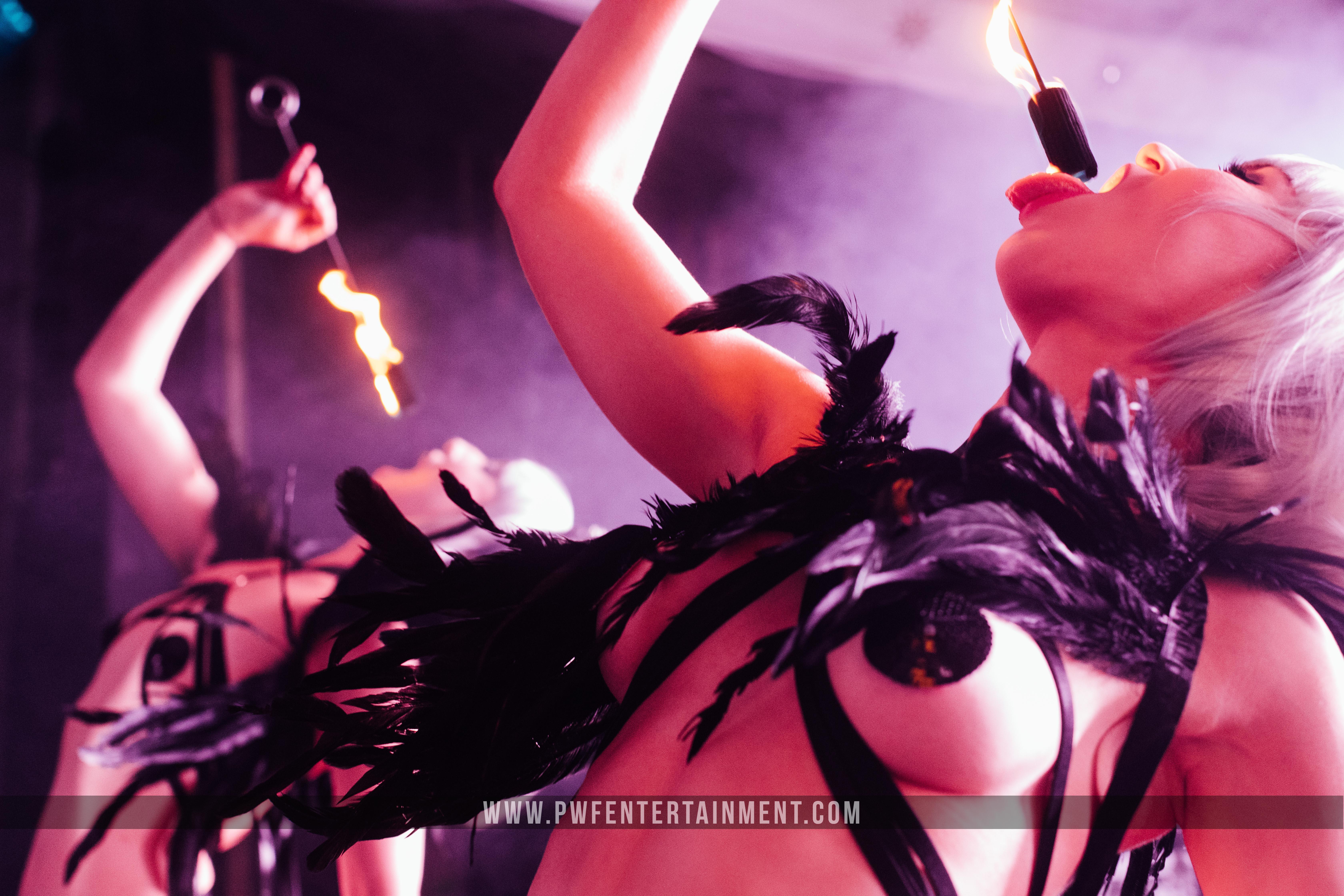 Burlesque Fire Show