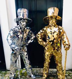Mirror Men Dancers