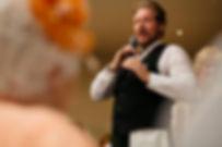 Singing Waiters Performing at Wedding