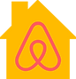 Yellow House on Airbnb.com