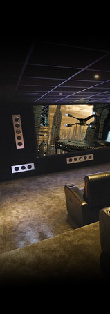 KEF Custom Install Inwall THX Cinema Systems