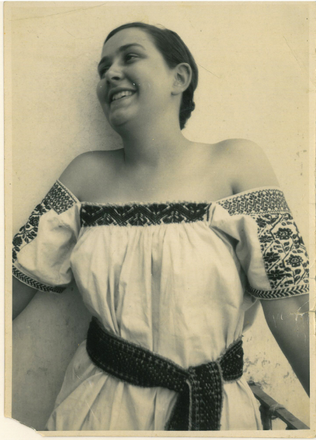 Maria Chabot in Mexico, 1933. Courtesy of the Georgia O'Keeffe Museum Research Center