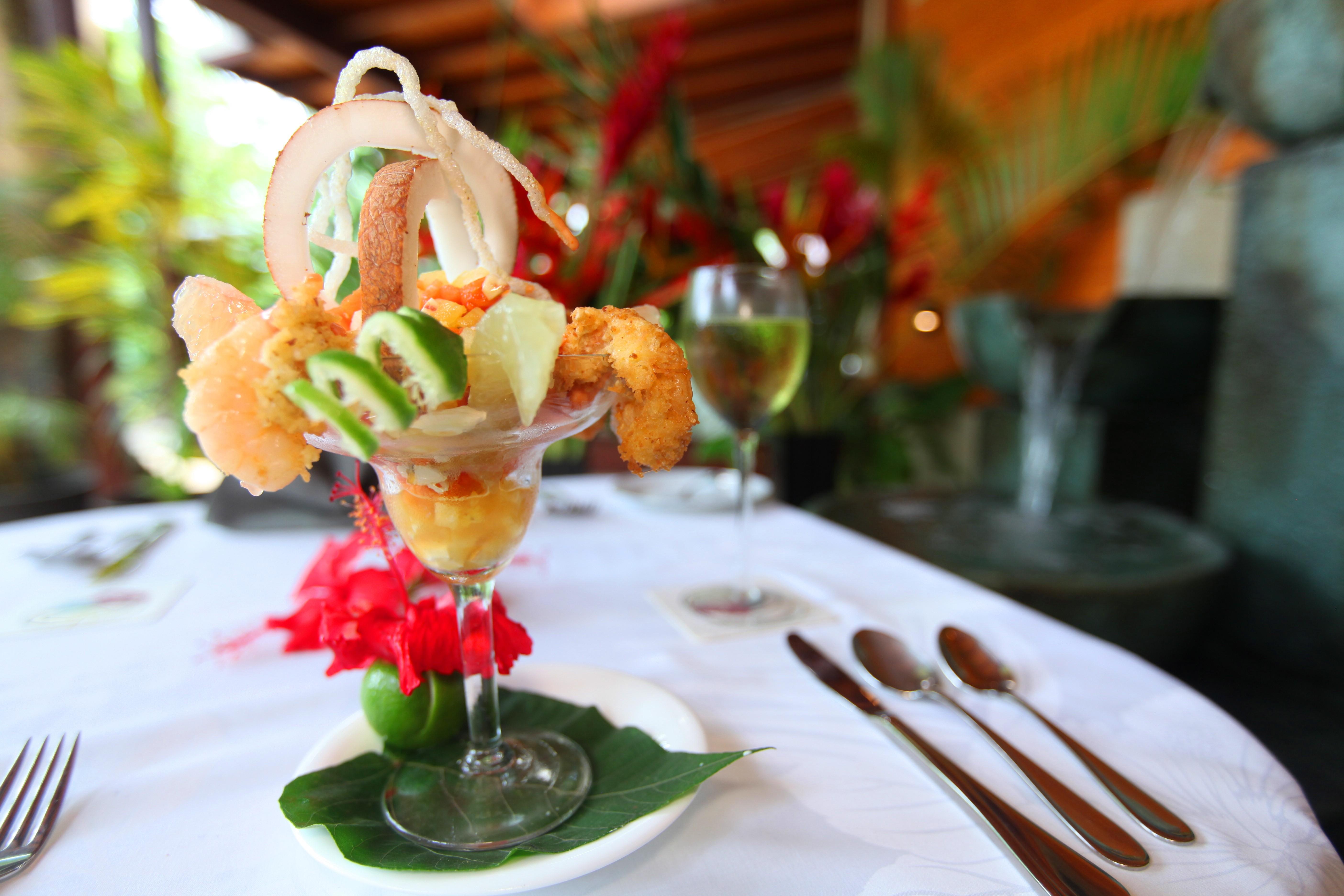 Chef Rachel's Coconut Prawn Cocktail