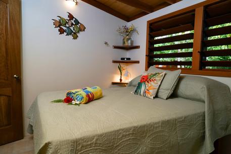 Queen size pillow-top bed