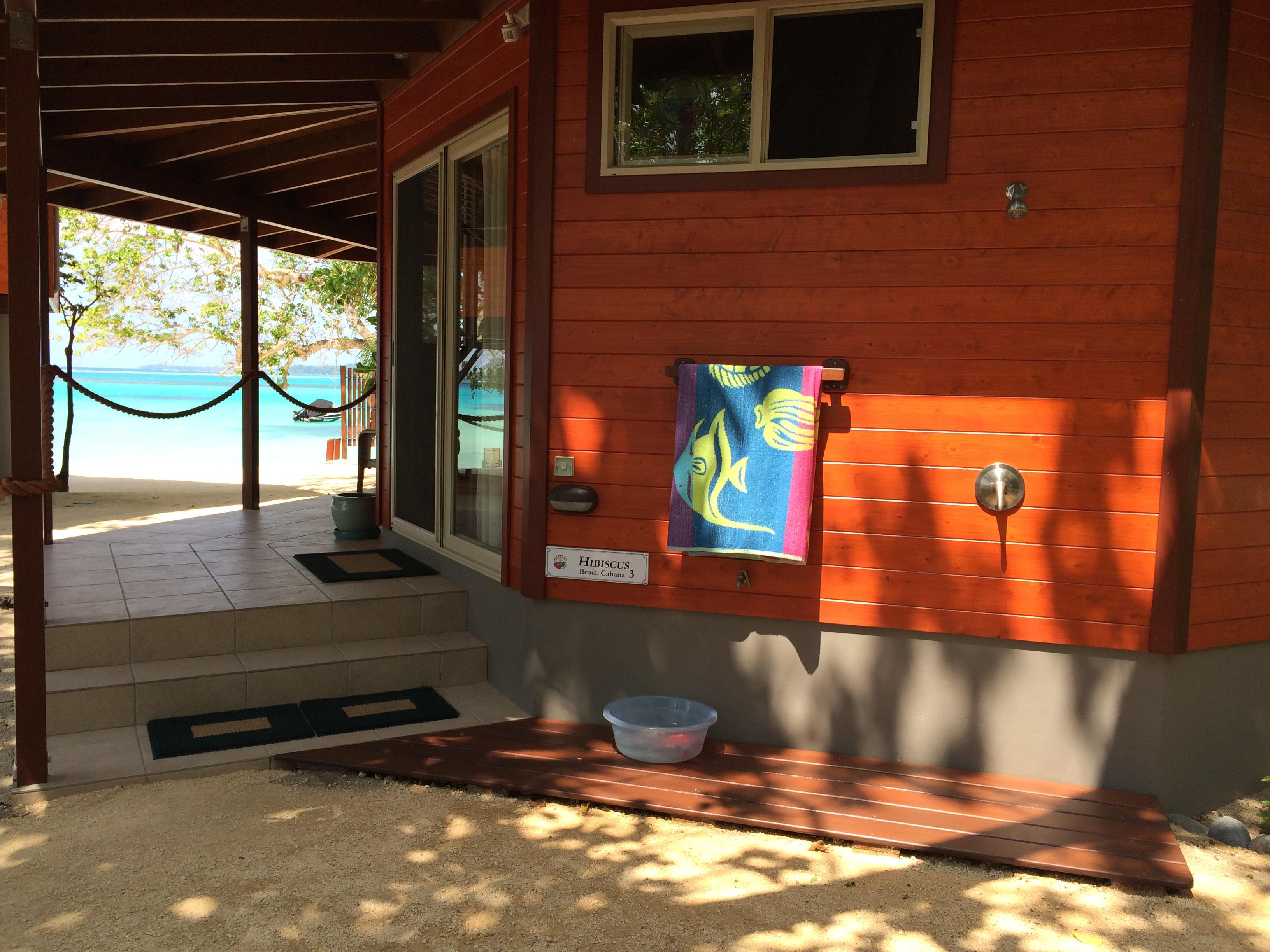 The Hibiscus Private Beach Cabana