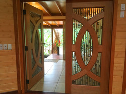 Doors into Tropical Guest House
