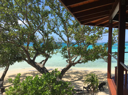 View from Frangipani