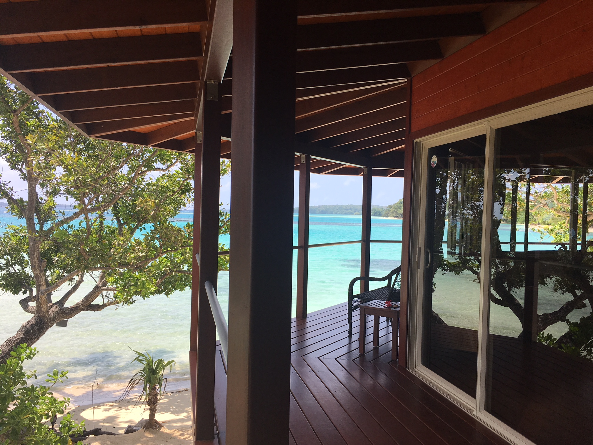 Panoramic Views, The Frangipani