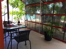 The Hibiscus, private Dining Terrace