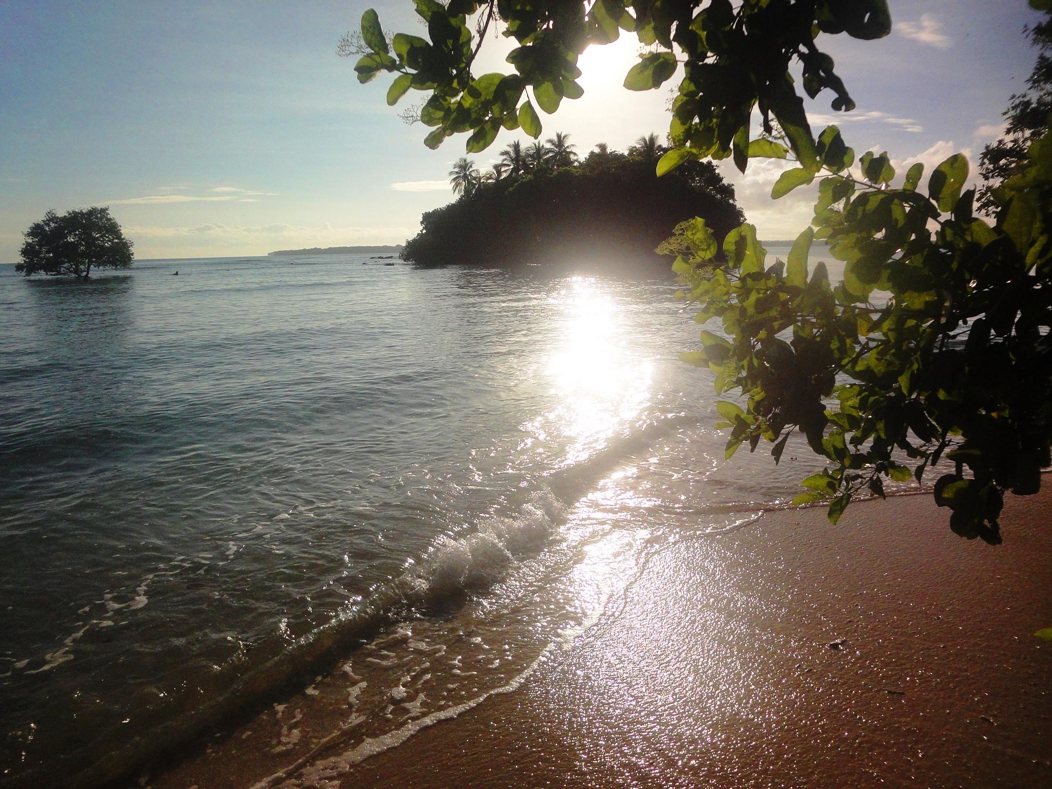 Sunrise Island - Easter morning 2014
