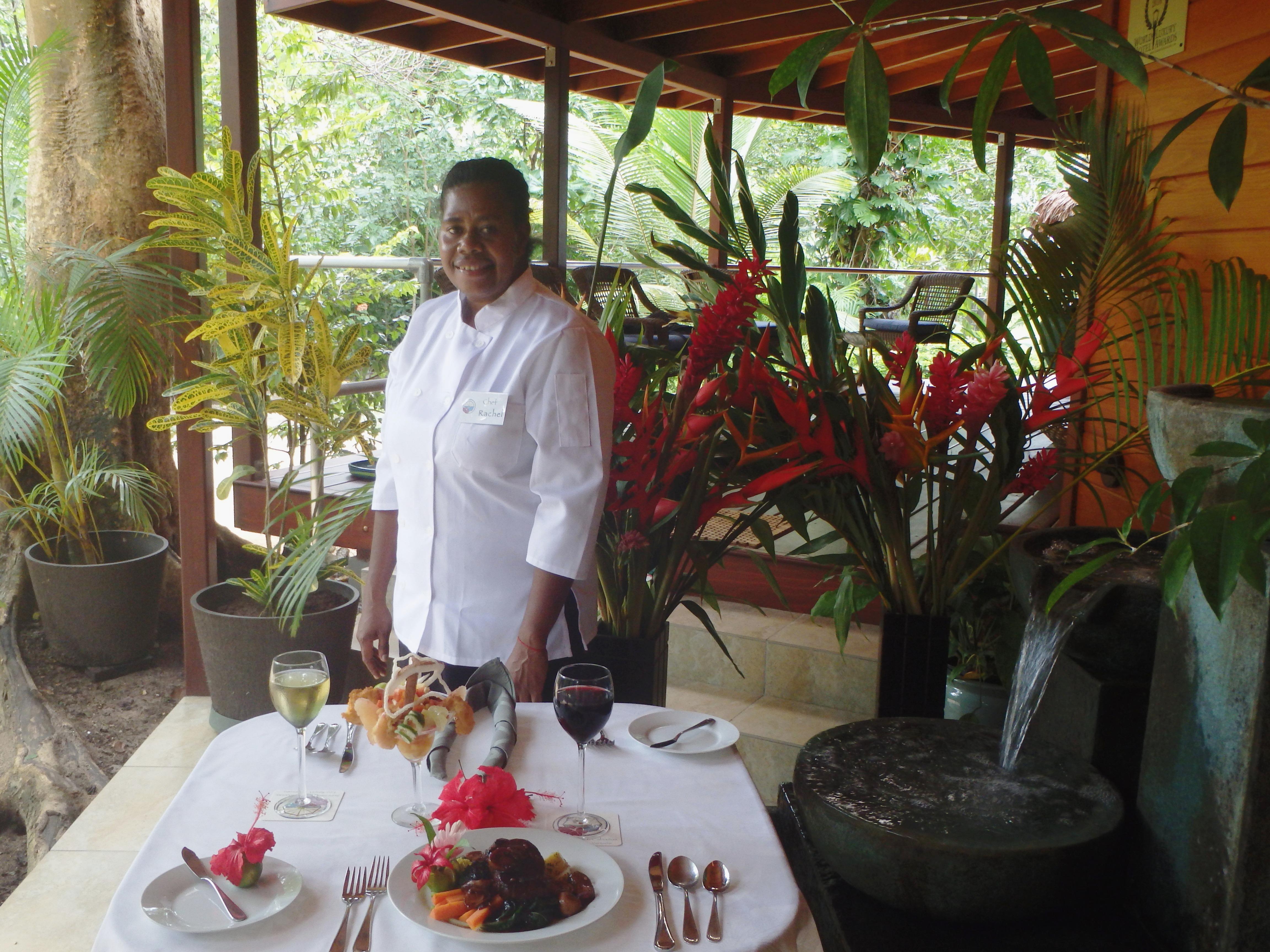 Chef-prepared specials