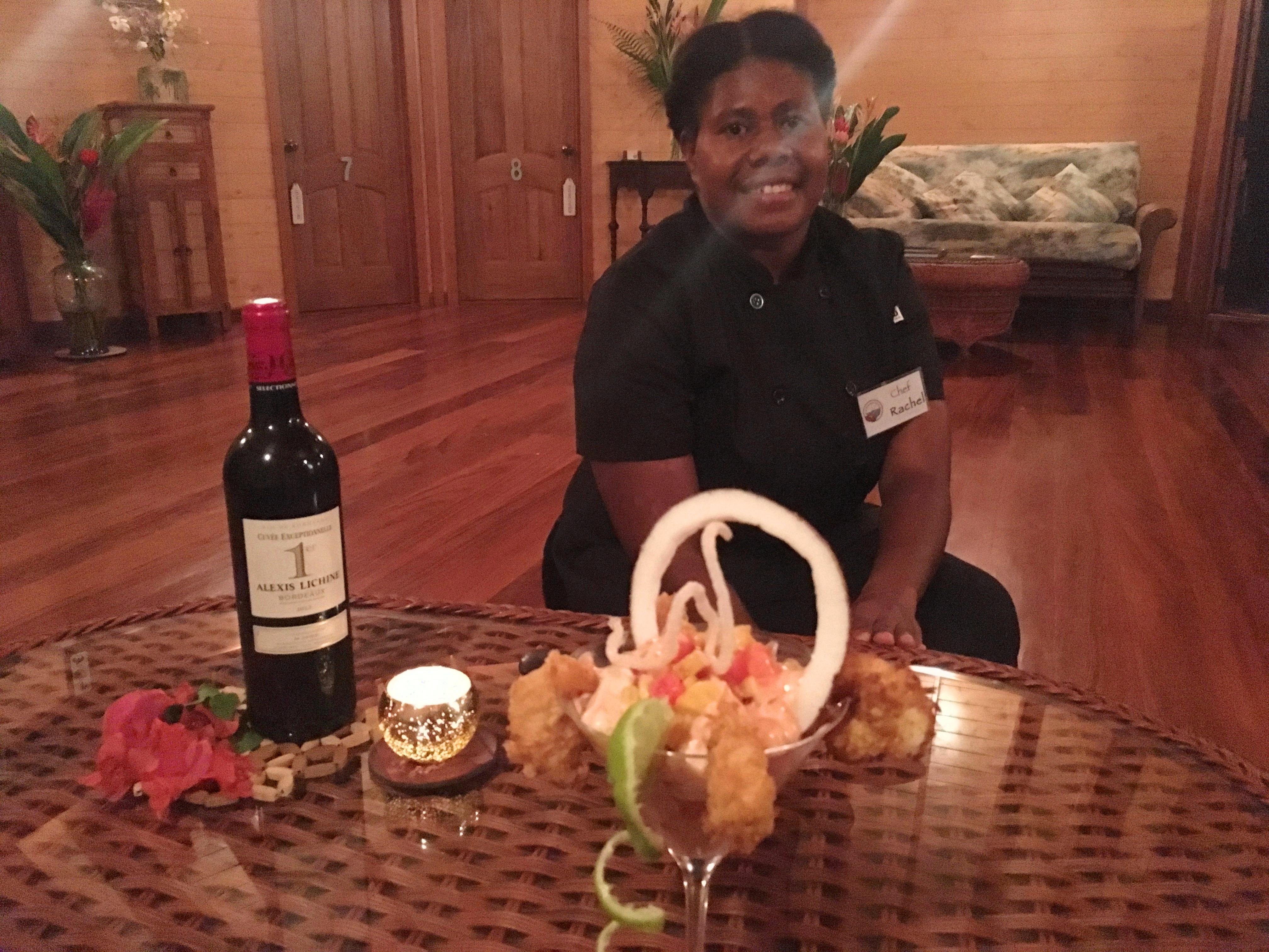Chef Rachel's Prawn Cocktail Special