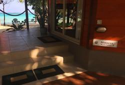 the doorstep ... The Hibiscus