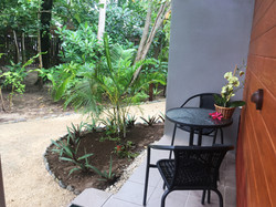 Outdoor Sitting Areas for Guest Rms
