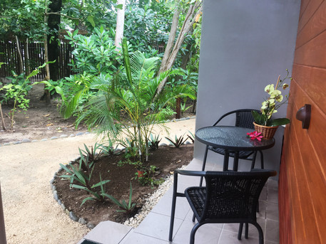 Private sitting areas
