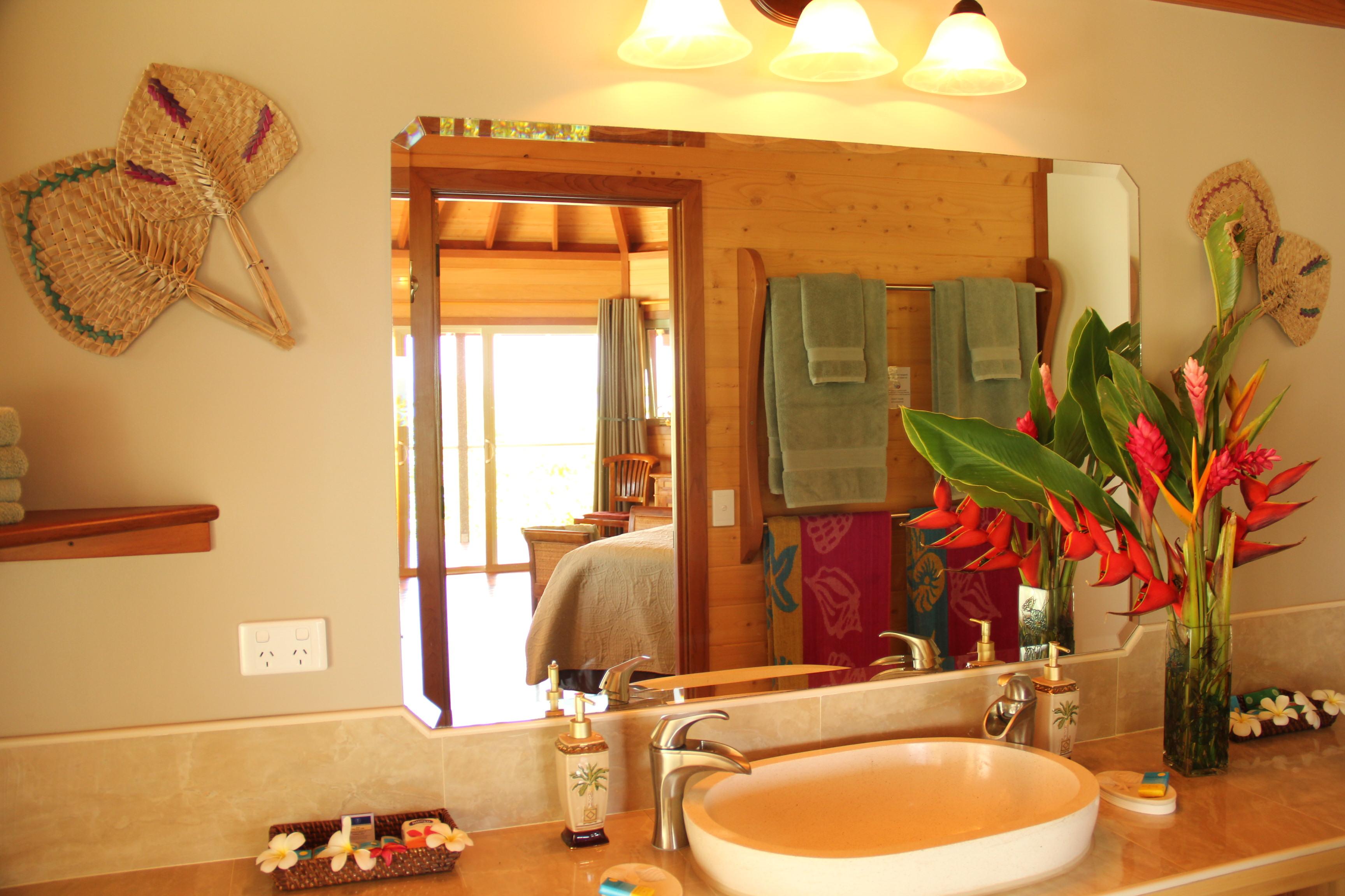 The Frangipani Bathroom Amenities