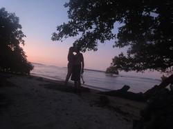 Moonlight Embrace Sunrise Beach Cabanas