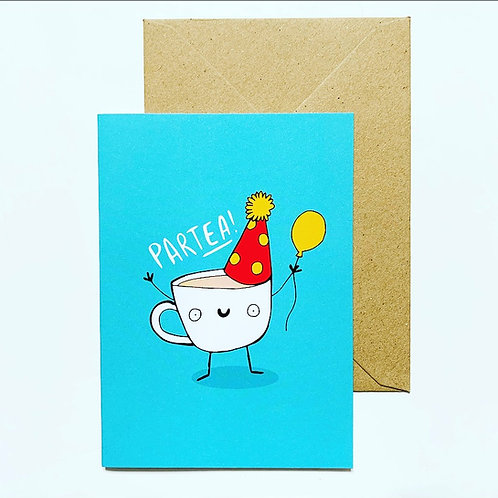 'Partea!' greetings card