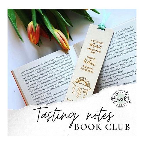 Tasting Notes Book Club :  1 Month Subscription (FEB)
