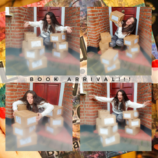 12th December: BOOK ARRIVAL!! This lil' photoshoot pretty much sums up the happiness brought from my books arriving