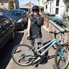 MAY: I cycled to Hertfordshire to start photographing friends in Lockdown