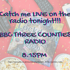 15th February: I have the incredible opportunity to speak to presenter @ladyxsize on 'BBC Three Counties Radio'📻 tonight at around 8.15pm to do with my book 'Lockdown Living 2020'!!📚 Although I may be a little nervous I am extremely excited!😁