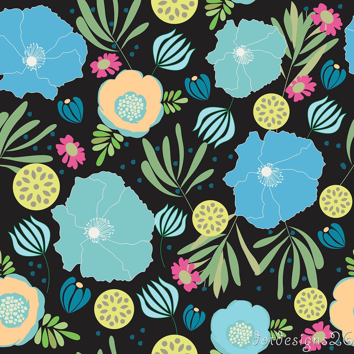 1 Wild Floral Turq Design wlogo.jpg