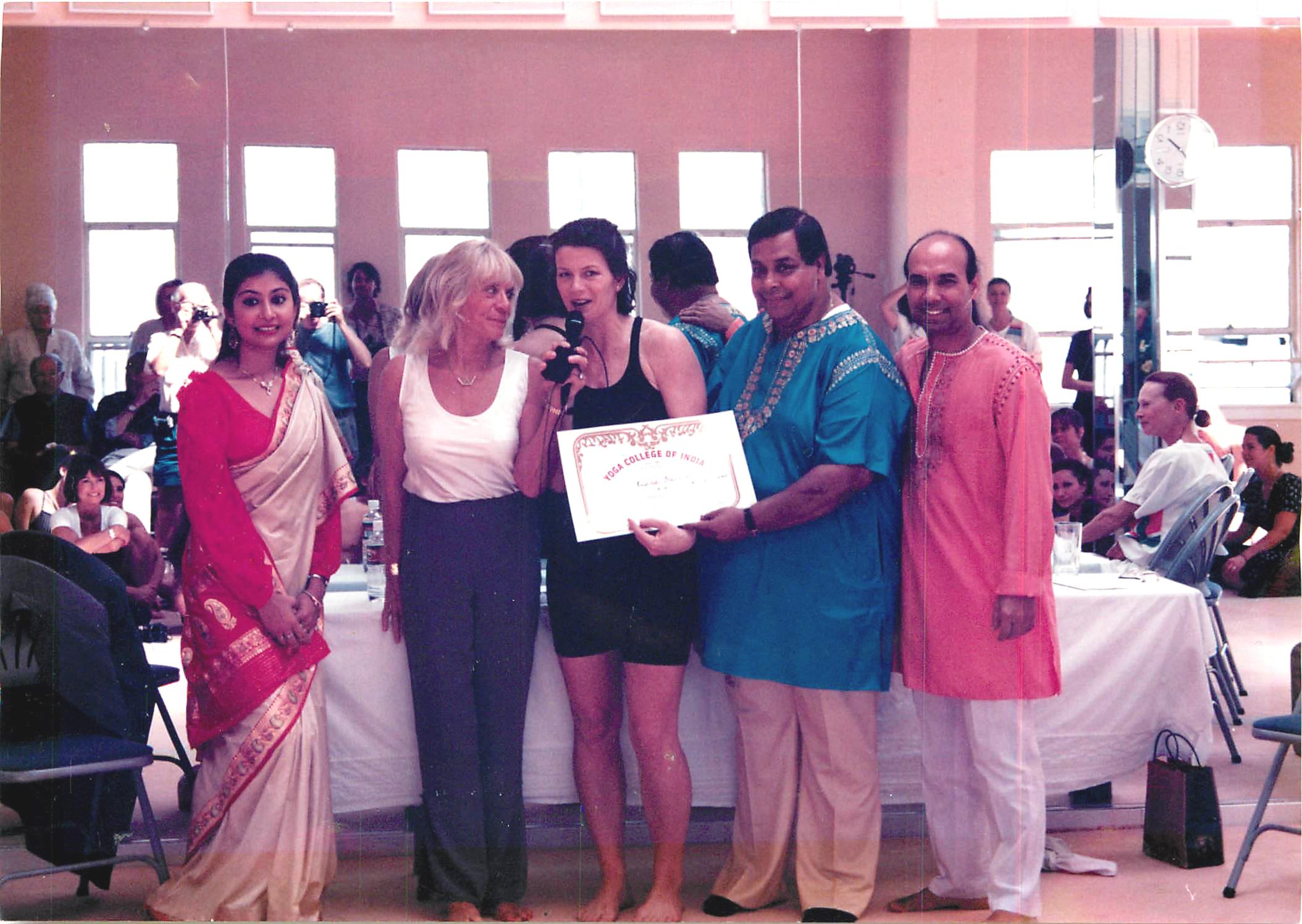 Regina Graduation with Bikram