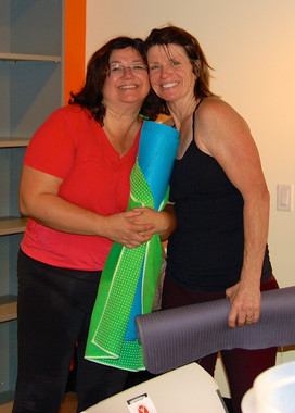 With Stephanie, membership manager
