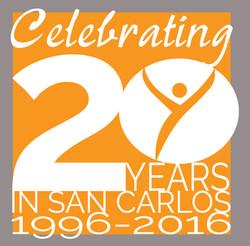Yoga Health Center 20yr logo