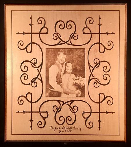 Wedding Photo Album Keepsake Box