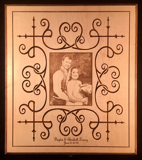 Wedding Photo Album Keepsake Box