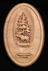 Taxidermist Plaques Wooden Carved Engraved Laser Signs
