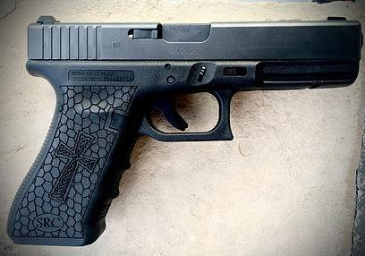 Laser Engraved Glock
