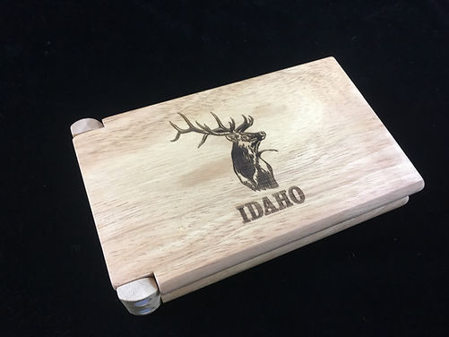 Personalized Travel Cribbage Board