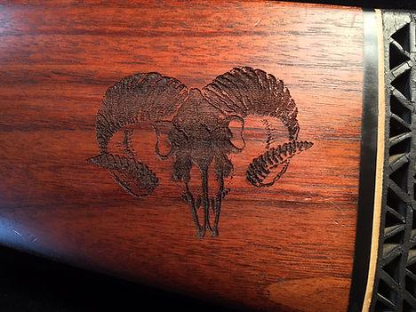 Laser Engraved Gun Stock