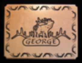 Wooden Carved Signs