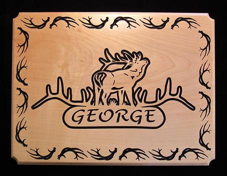 Custom Carved Wood Signage Boise