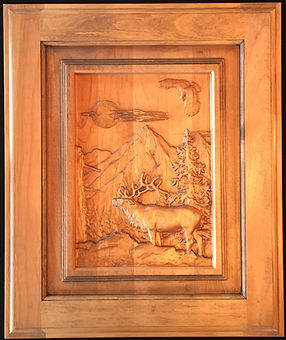 3D Carved Cabinet Doors
