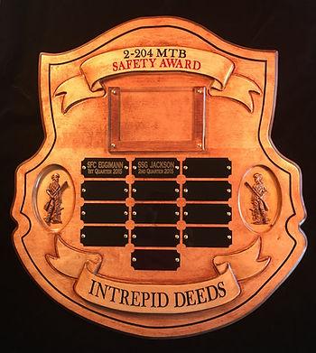 Idaho National Guard Safety Award